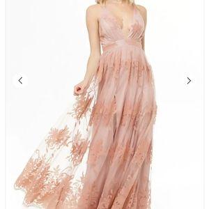 Forever 21 Velvet Lace Dress